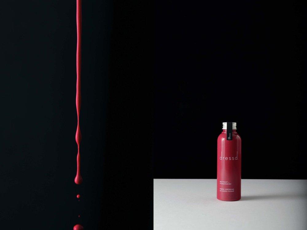 Bolter design label design for Dressd
