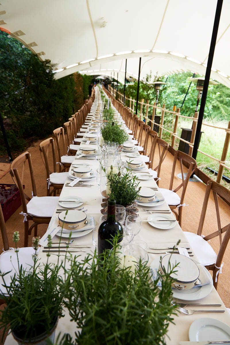 Bolter Design event planning for Woodland Dining
