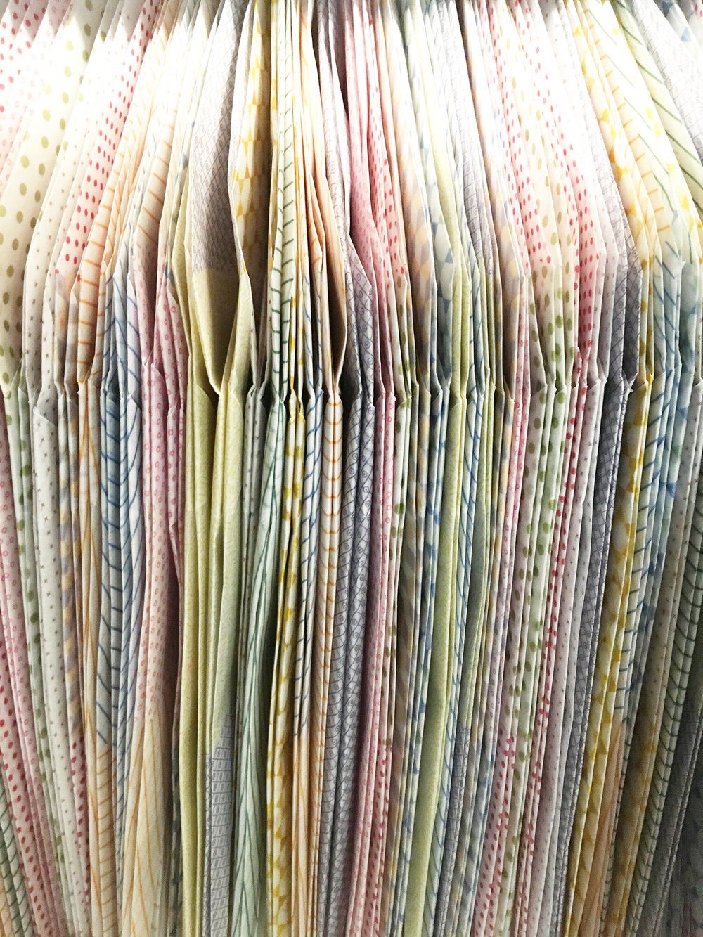 Bolter Design origami installation design