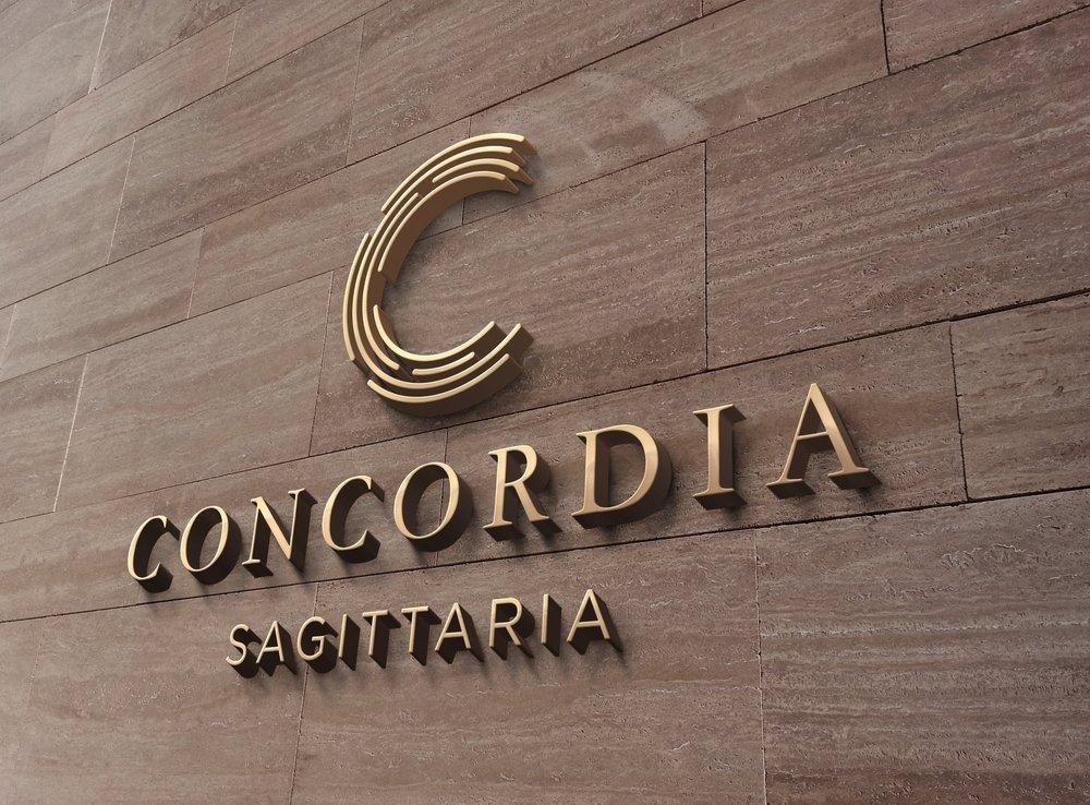 Bolter design logo design for Concordia Sagittaria