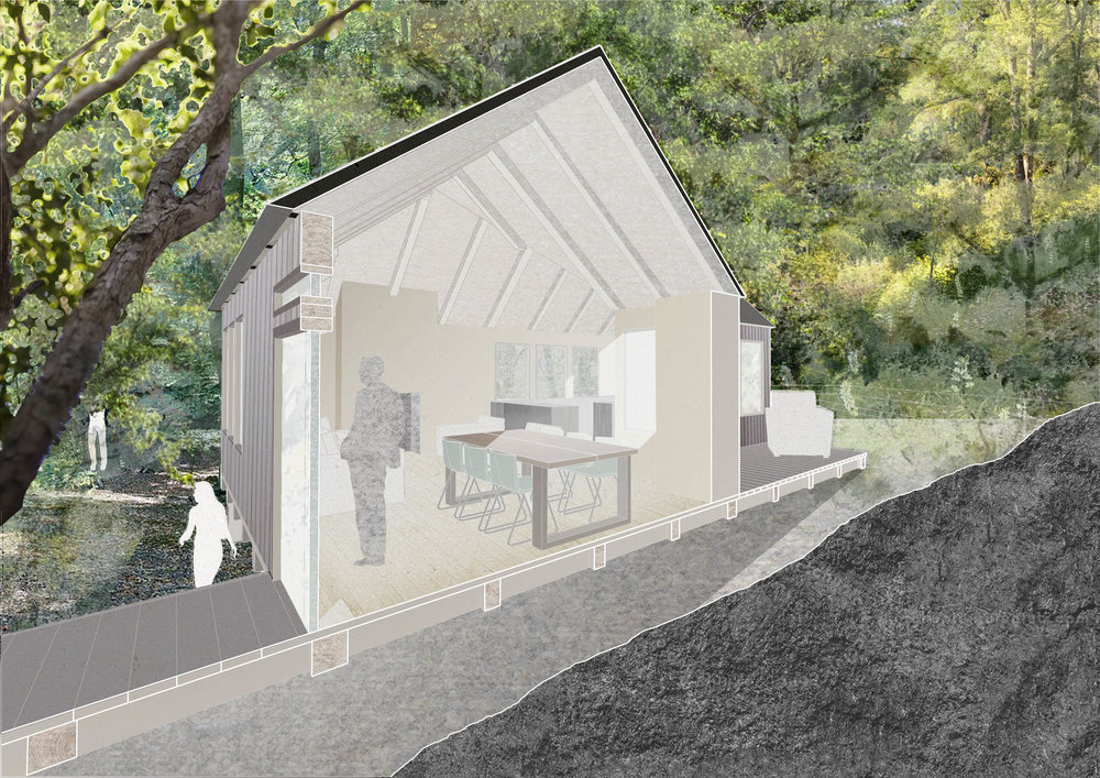Bolter Design architectural design for Treehouses
