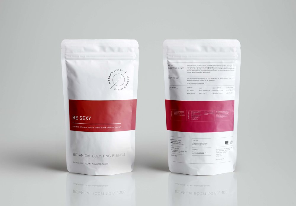 Bolter Design packaging design Blooming Blends