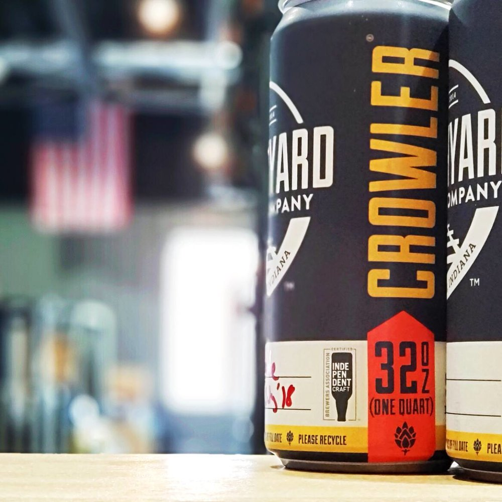 Every First Friday of the month - grab a fresh, To Go 32 oz Crowler of beer for just $5!