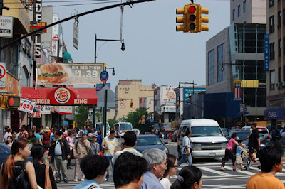 Main St, Flushing, Queens ©Art Print Images