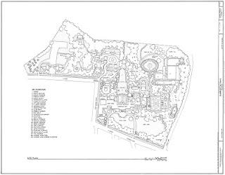 Plan of Dumbarton Oaks