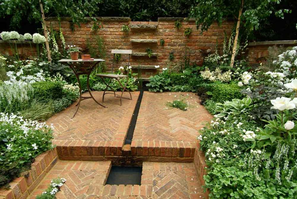 Ideas for a brooklyn garden design todd haiman landscape design - Small space garden design property ...