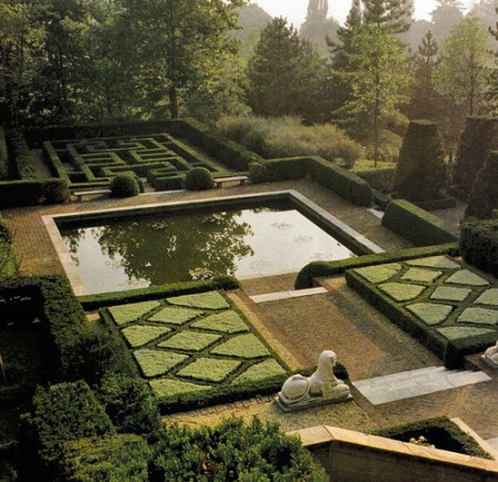 Russell page on garden design todd haiman landscape design for Different garden designs