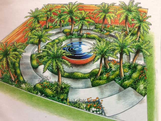 Illustration Of Garden From RHS Catalog Nbspnbspphoto Todd Haiman Landscape