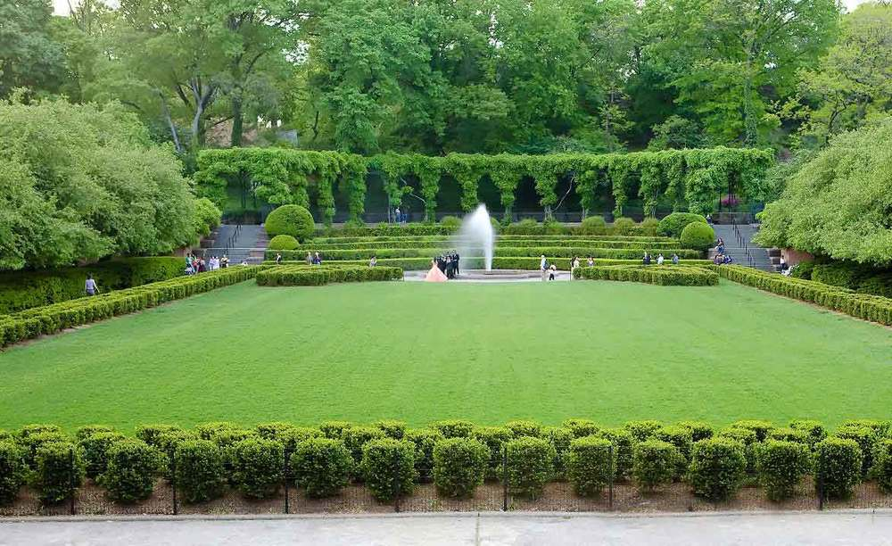 Italian Garden Design italian gardens italian garden inspirations Italian Garden In Central Park New York City