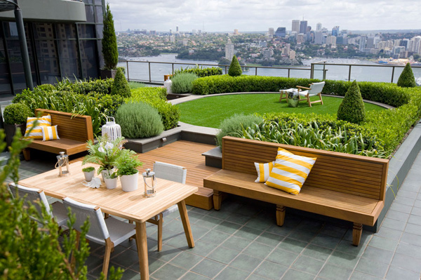 Elegant Roof Garden Increase Real Estate Value Good Ideas