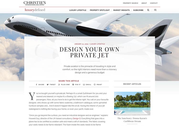 Design Your Own Private Jet Design Q