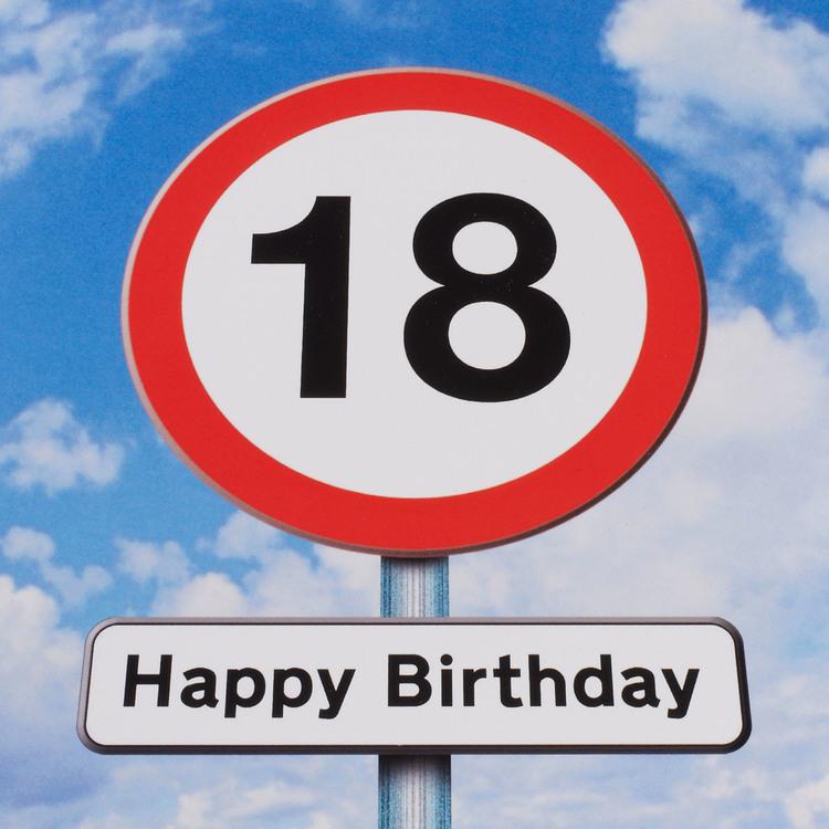 happy 18th birthday design q design q