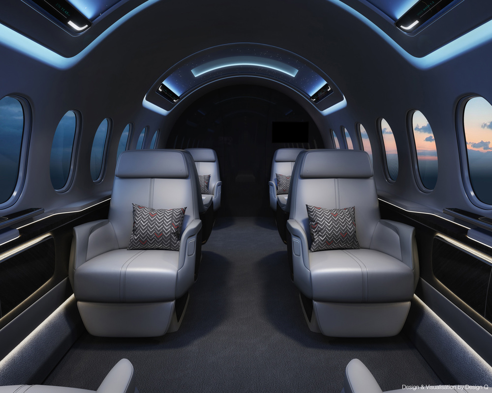 Aerion AS2 Interior by Design Q