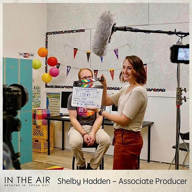 "Crew Spotlight: Shelby Hadden Shelby Hadden is a writer, speaker, documentary filmmaker, and associate producer of In The Air. Her films have screened at various film festivals including the Nashville Film Festival and Sidewalk Film Festival. She is a producer at the Austin-based creative agency, Bring Light & Sound, and an associate producer with Fiege Films and Women Rising. Fun Fact: she produced her first documentary, ""A Cat's Life,"" for her fourth-grade science fair project.  Help Shelby produce In the Air by donating to our Kickstarter campaign! Link in bio!  #environmentaljustice #spokenword #documentary #contemporarydance #gulfcoast #film"