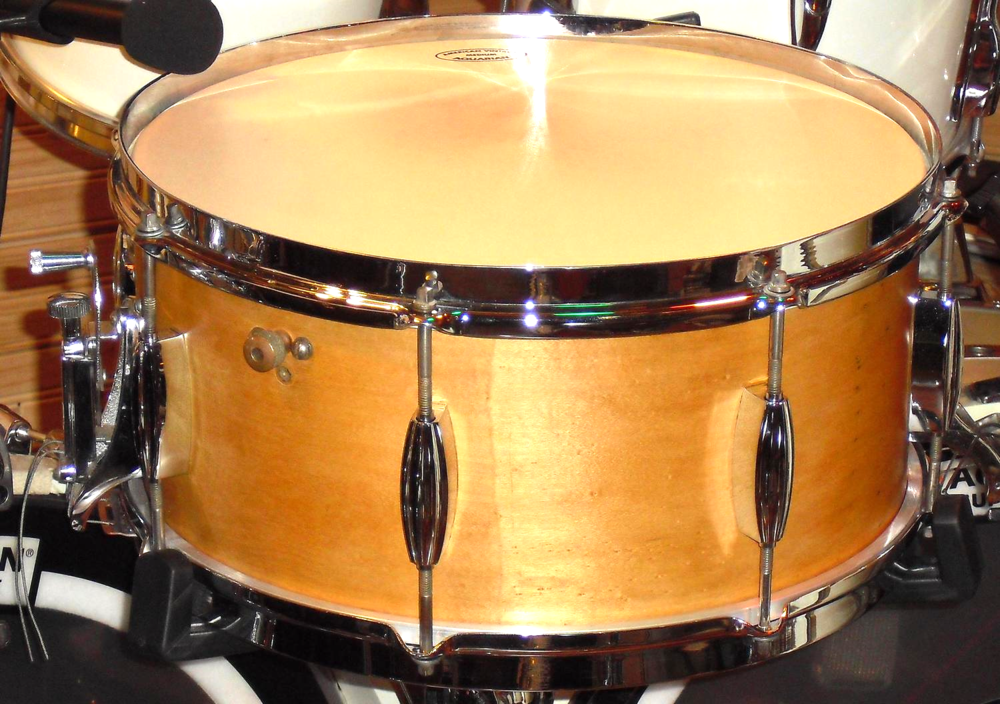 "Slingerland   ""Radio King"" Solid Maple 6.5x14 (1937)"