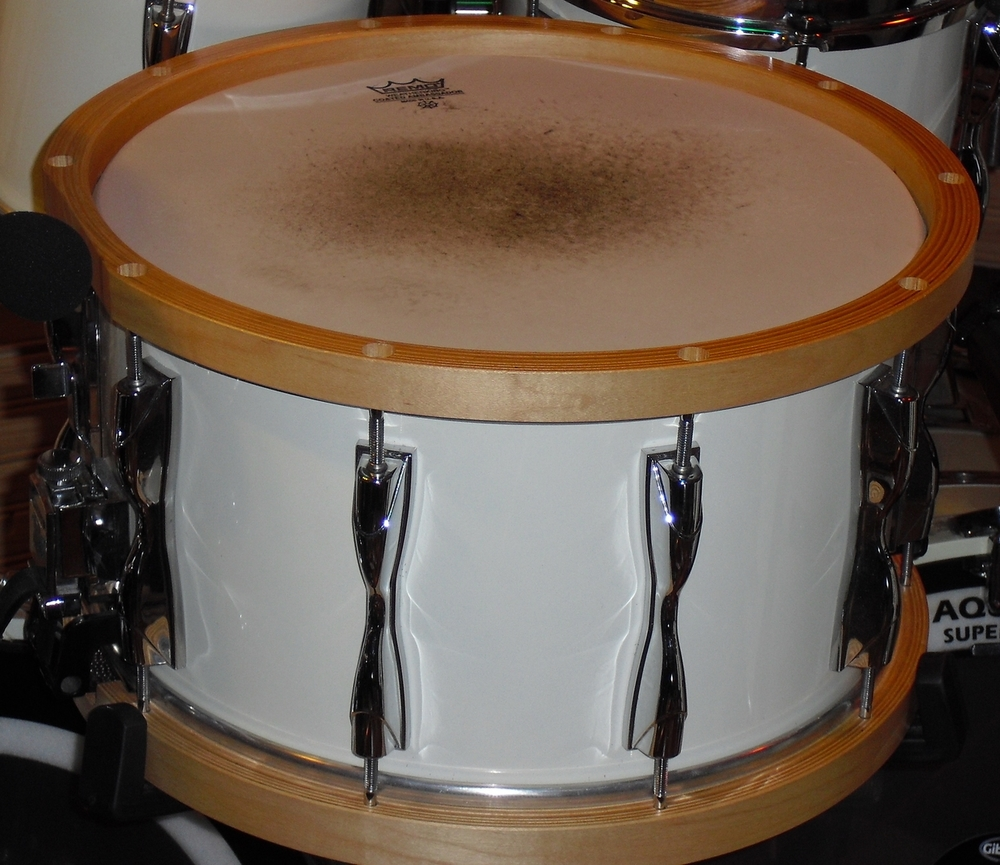 "Yamaha  ""Recording Custom""  Wood Hoop Birch  8x14 (1983)"