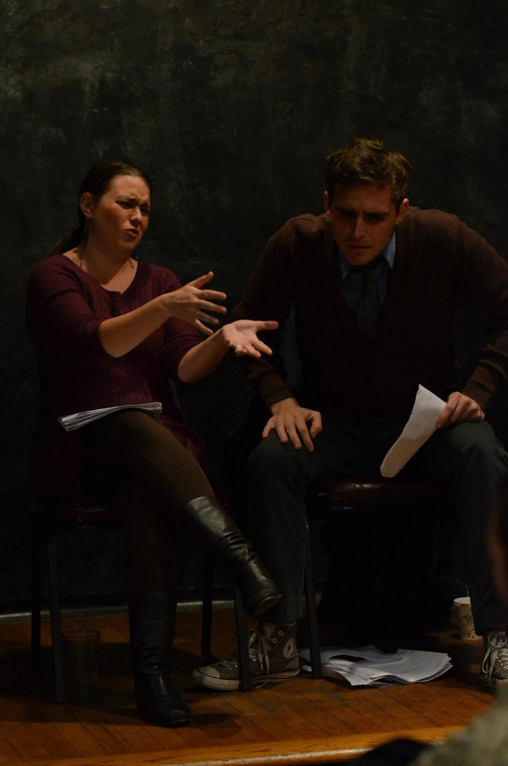 Short play reading, 2012