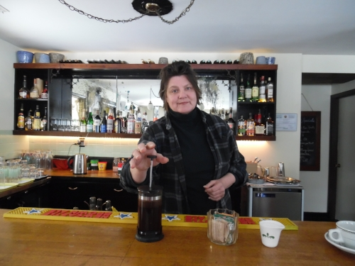 Joy Malinowski, owner of the Cooper House Bed and Cocktail and the Billy Motel