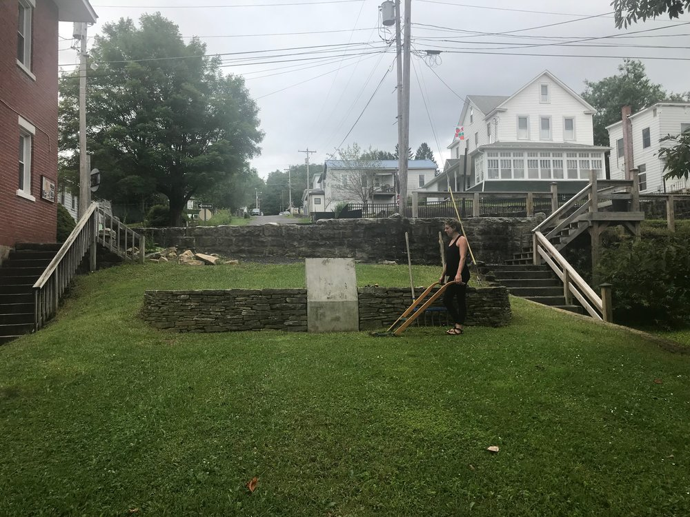 For Years There Have Been Plans To Install A Veterans Memorial Garden On  Front Street. Over Time The Plans Evolved And Motivation Ebbed And Flowed.
