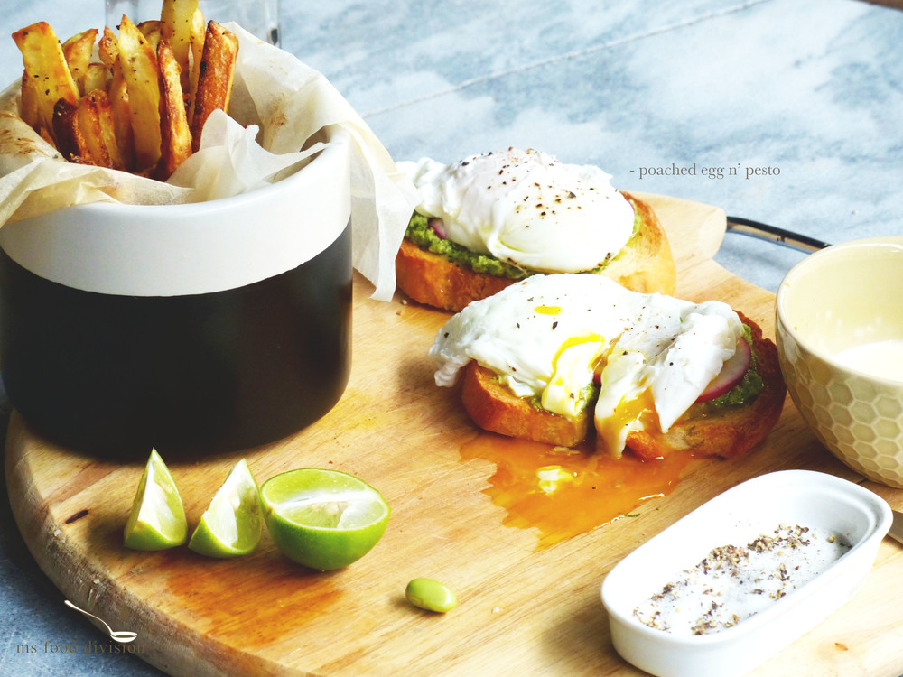 the baked fries recipe is  here
