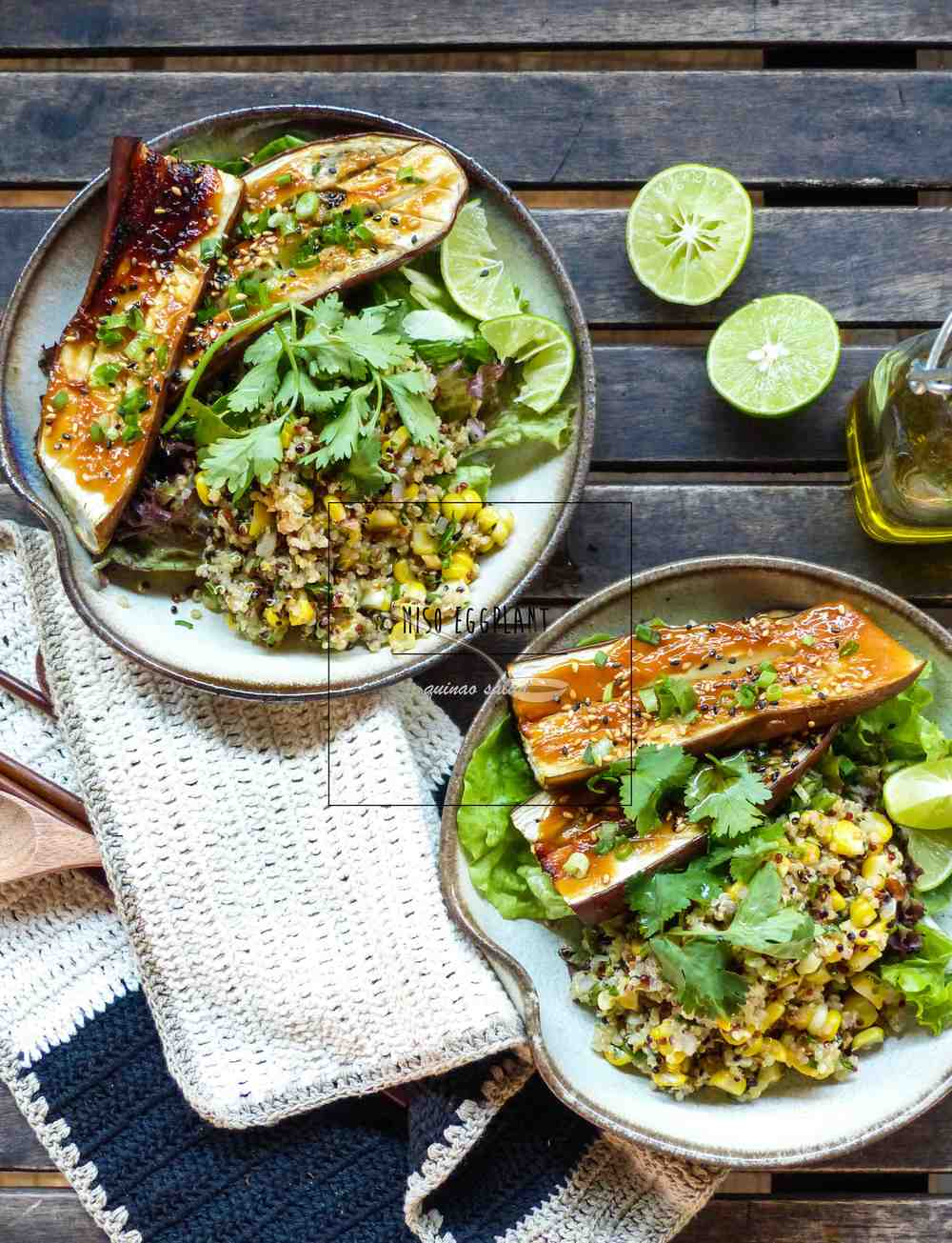 another quinoa dish for those with complicated palate.