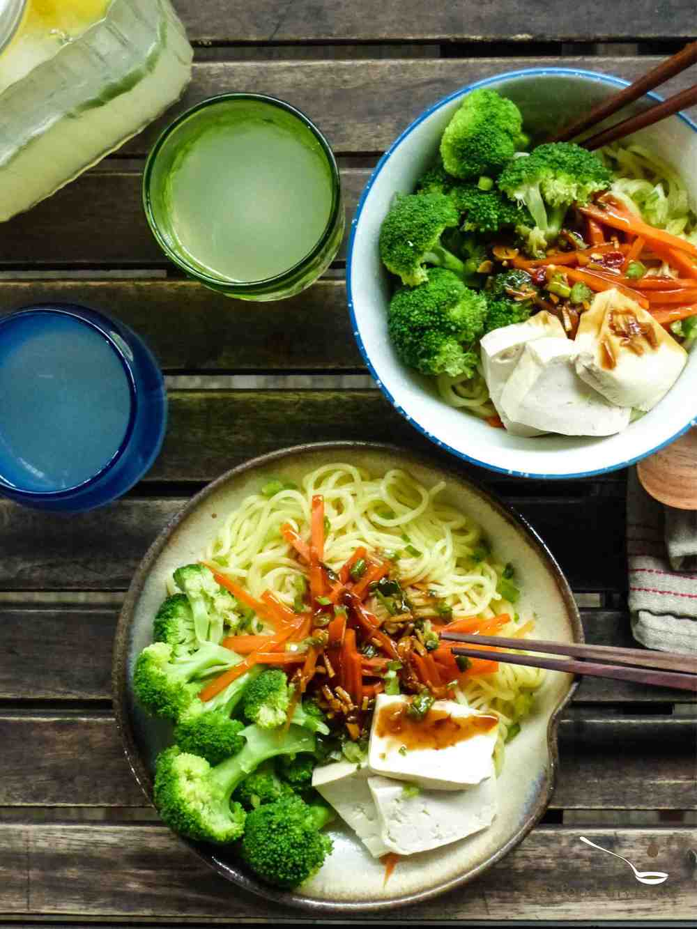This simple lo mein dish is packed with goodies for our body, mind, and soul!