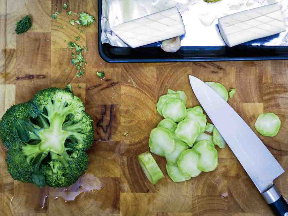 roasted eggplant & broccoli with peanut butter miso sauce - step 1.jpg