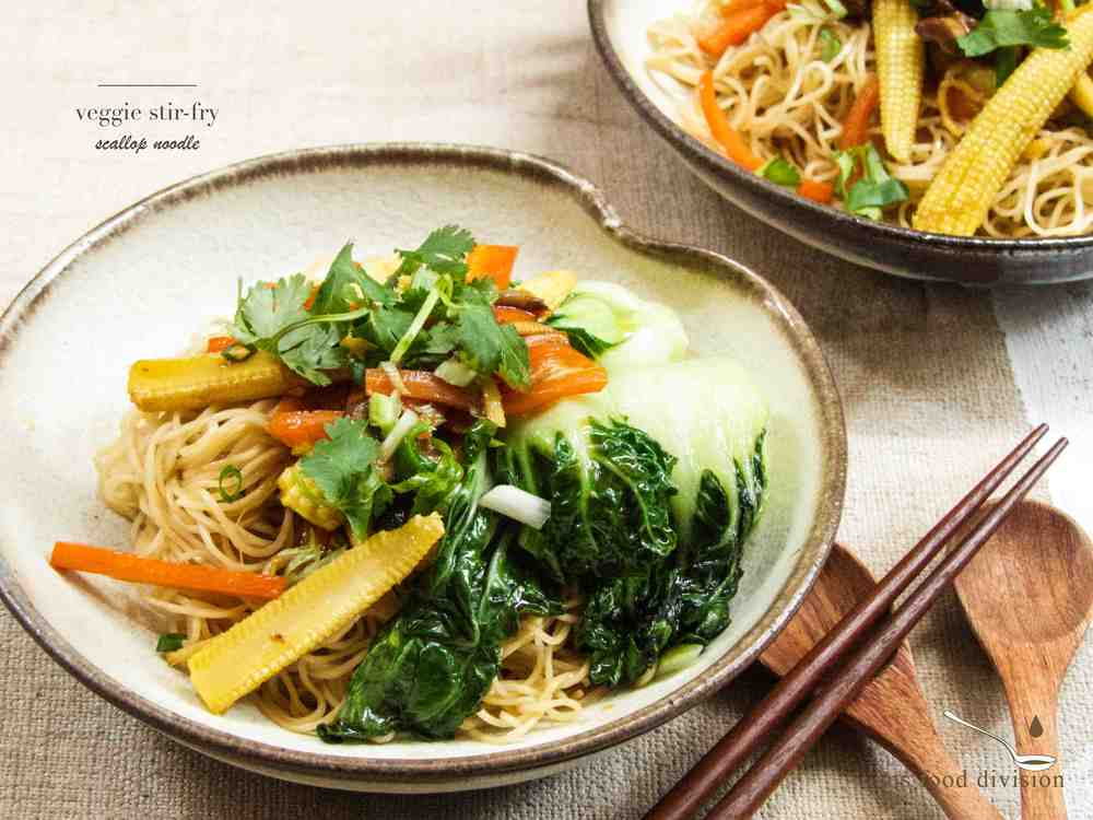 Another simple way to cook noodles is to stir-fry :)