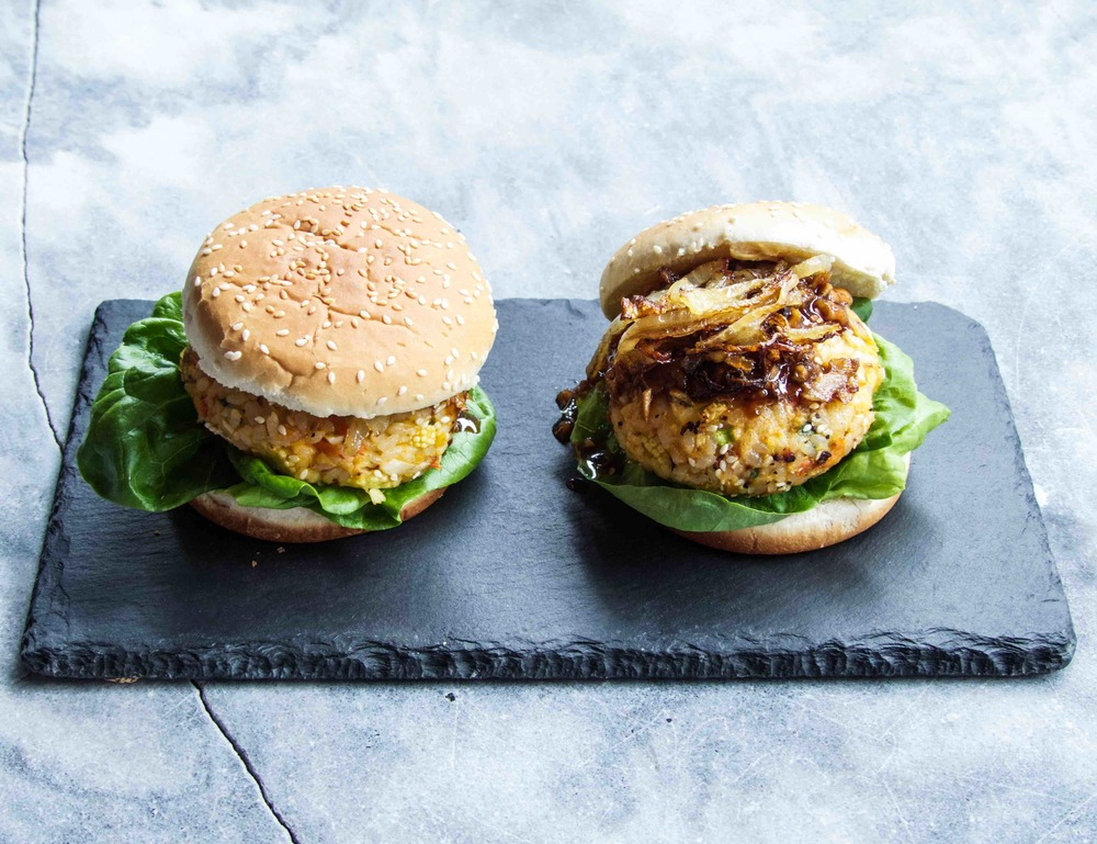 Burger with an Asian Twist - Kimchi Burger