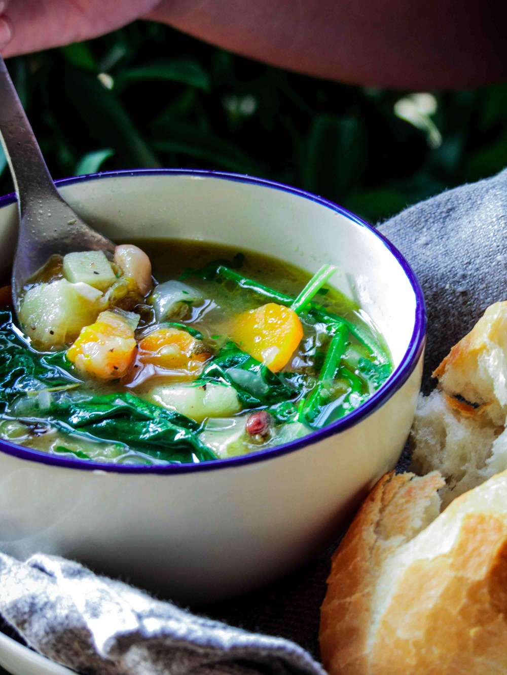 Mixed Veggies with chinese beans and barley soup-1.jpg