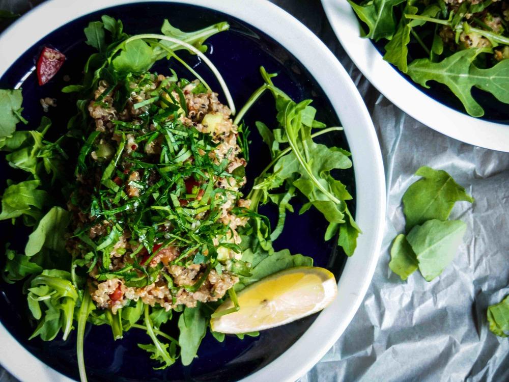 tabbouleh quinoa salad