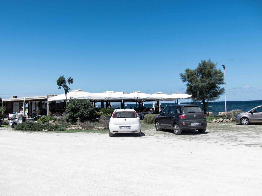 L'oasi Del Riccio - the perfect paradise for sea urchin lovers.  Don't let the settings fool you.  Seafood here is Aaaaaa-mazing!  There must be a reason why all the locals go there. :)