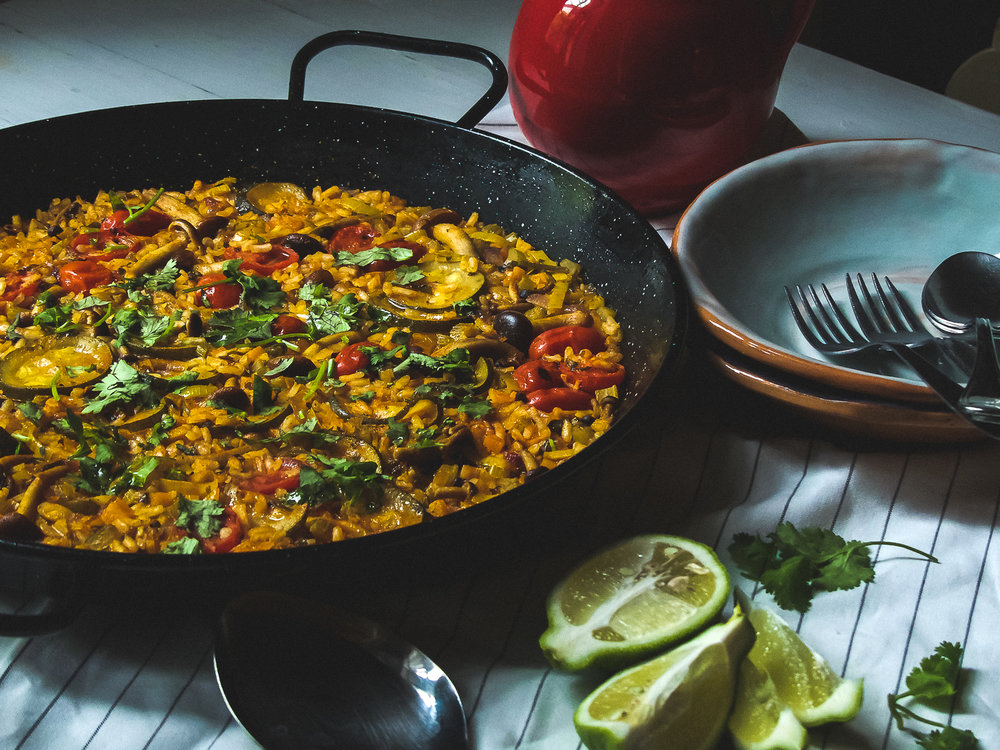 Korean Paella