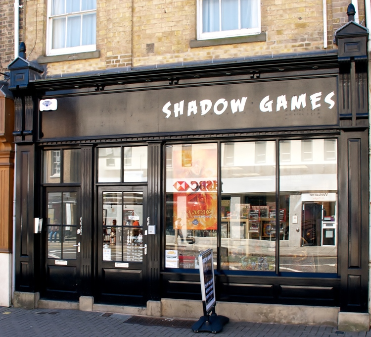 Shadow Games Store Front