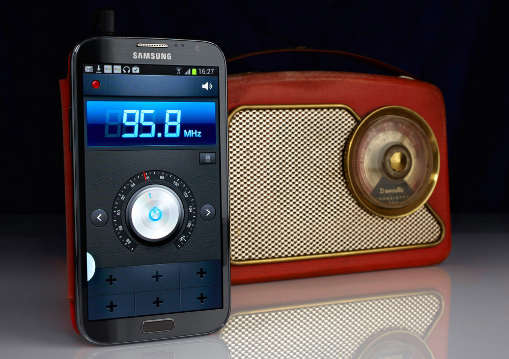 Samsung and Dansette radio 1.jpg