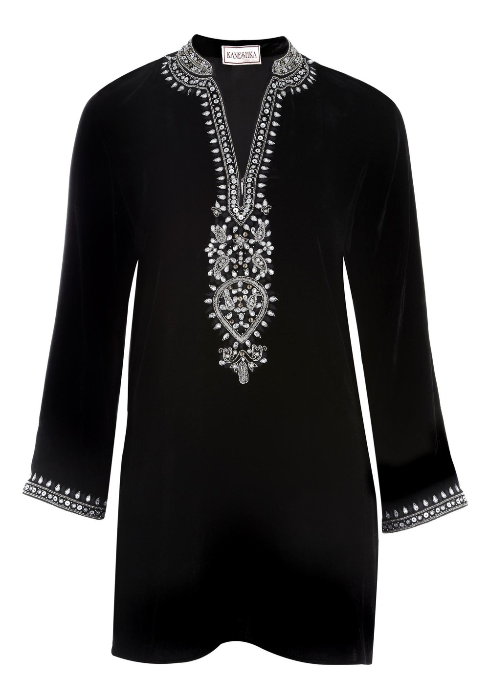 Black velvet kaftan with drop in a.jpg