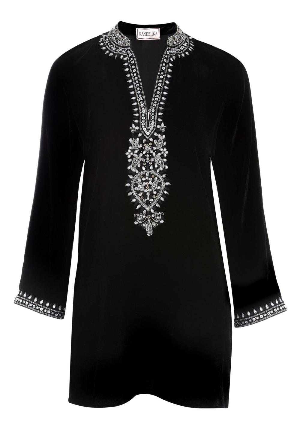 Black velvet kaftan with drop in a.jpg