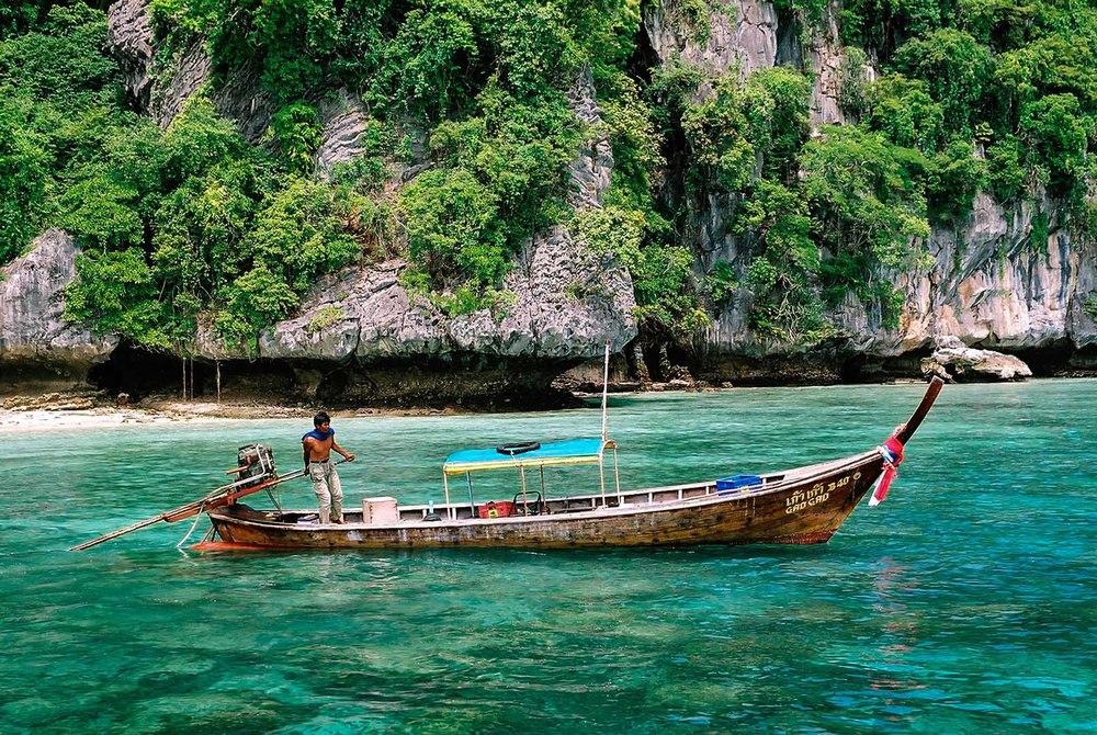 Fisherman Phi Phi Leh ,Thailand
