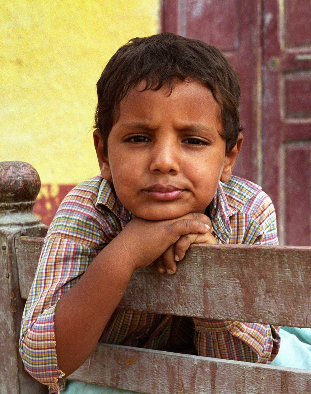 Boy at Nubian village, Egypt