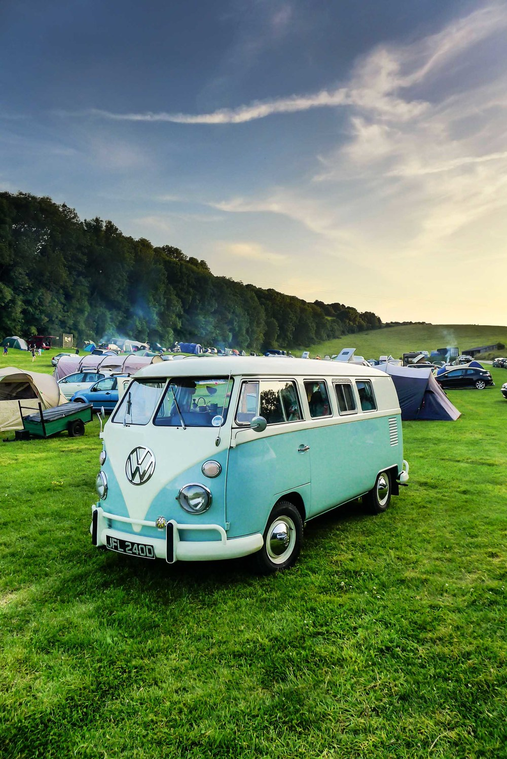 Camping in Alfriston, East Sussex
