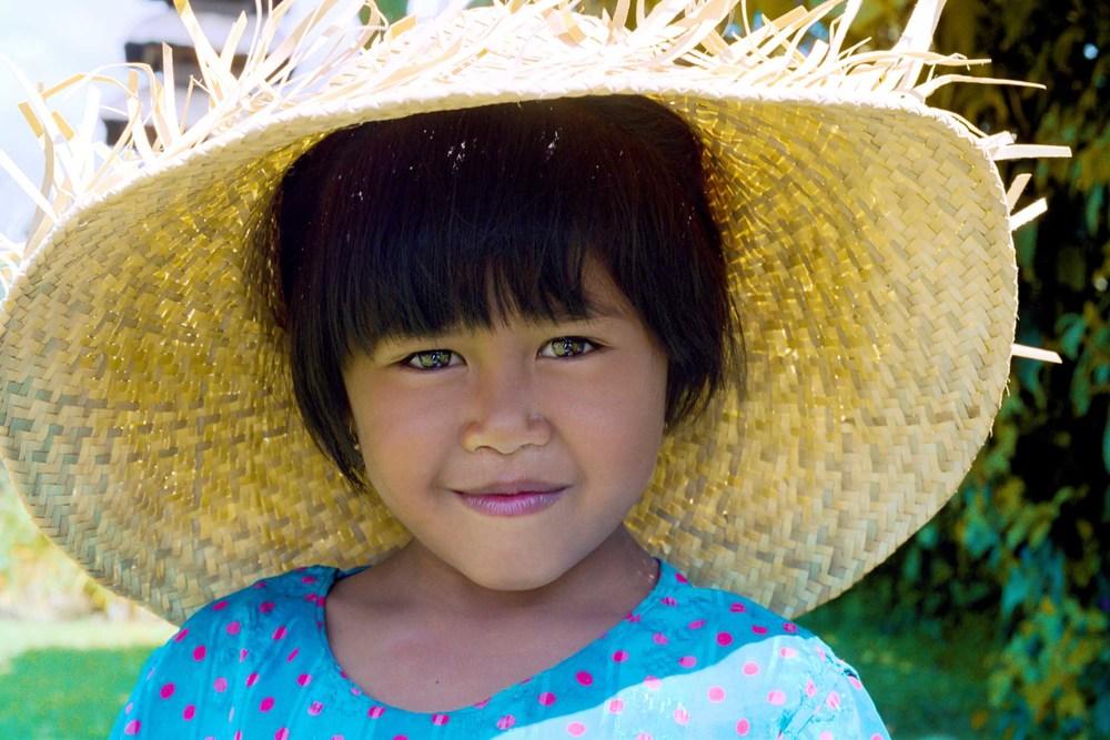 Young girl ,Bali ,Indonesia