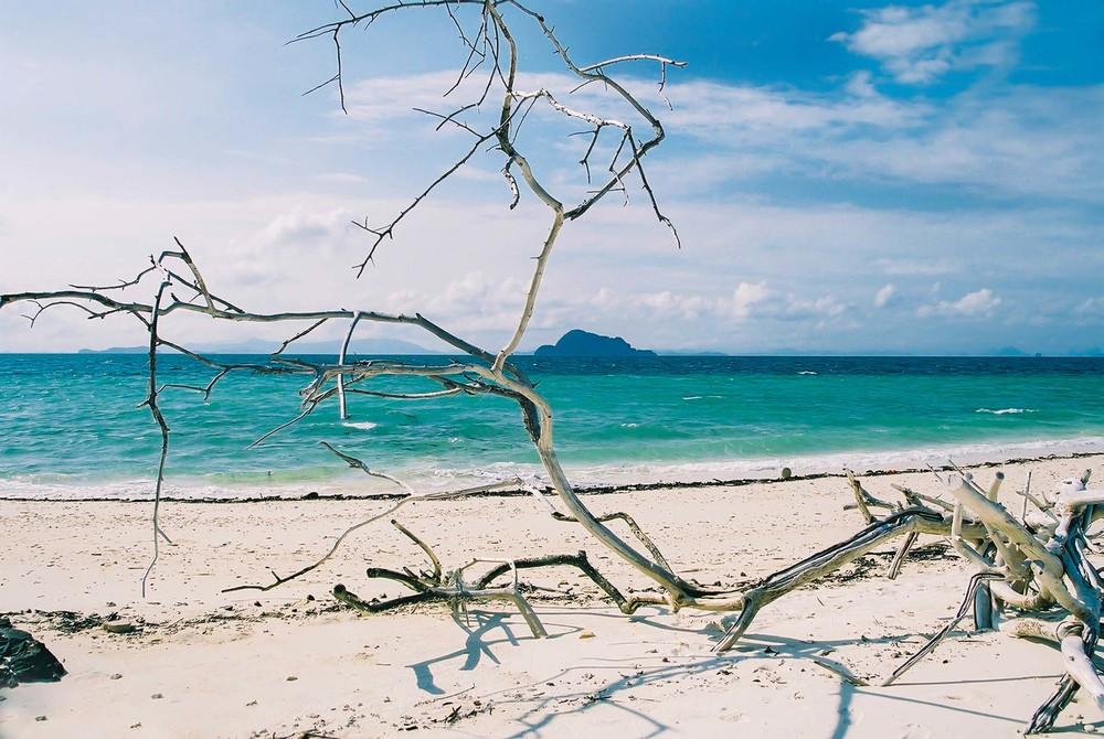 Remote Thai beach