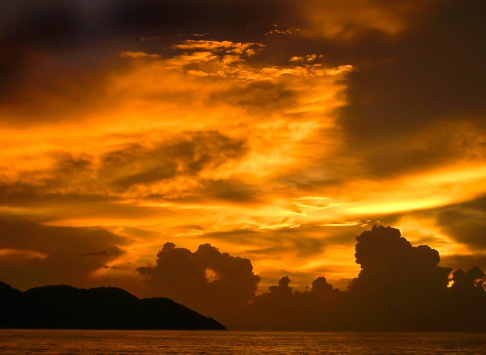 Sunset,Penang, Malaysia