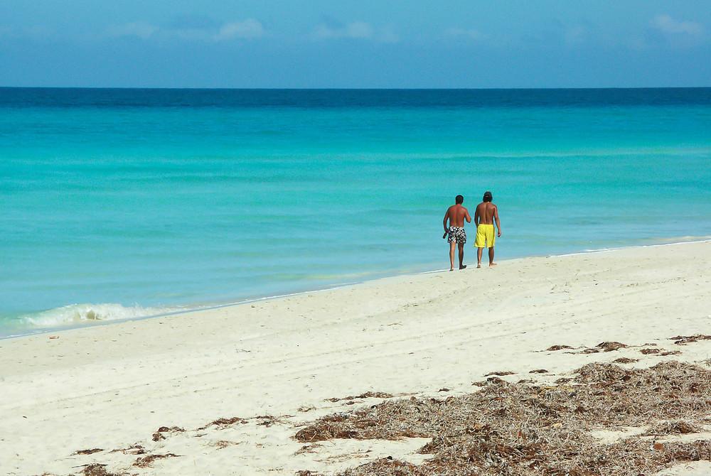 Beach, Cuba