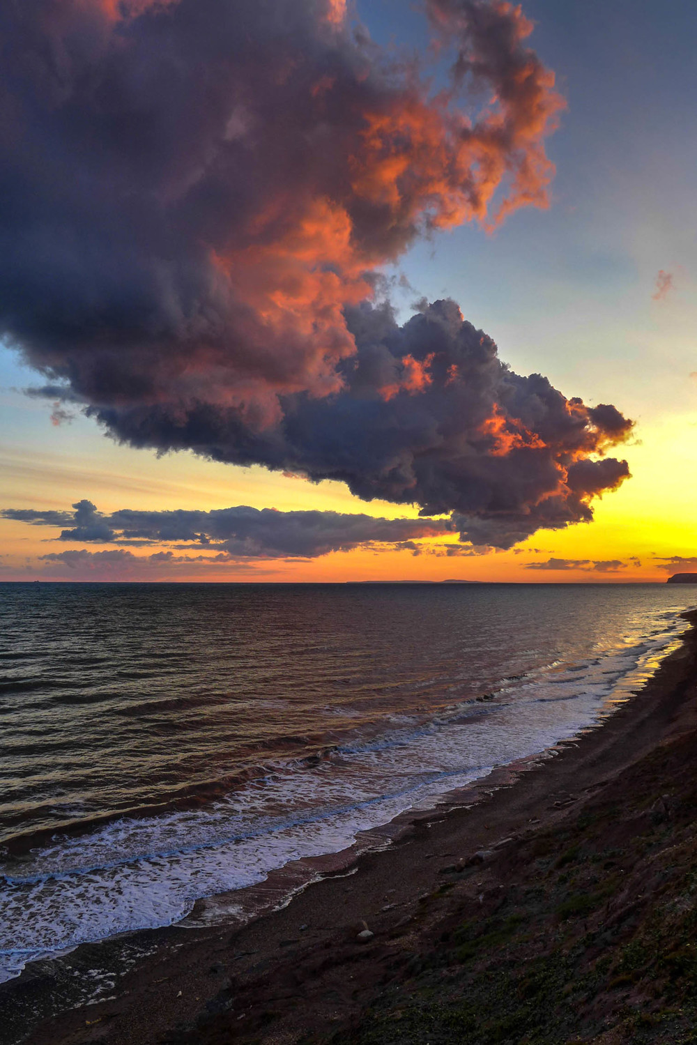 Isle of Wight sunset