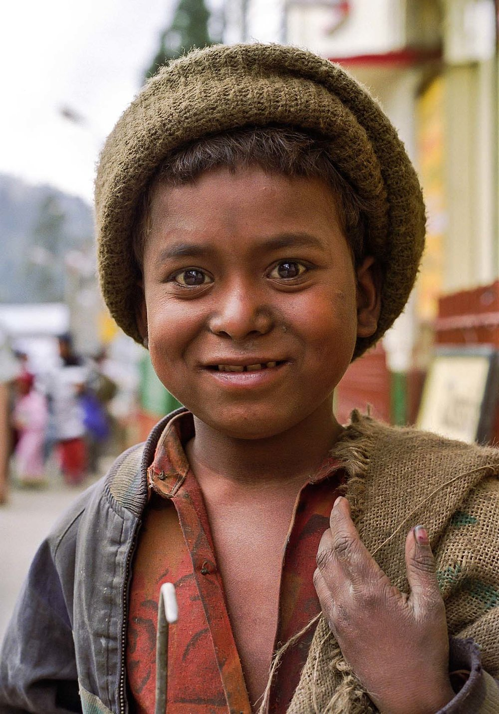 Young boy,Darjeeling