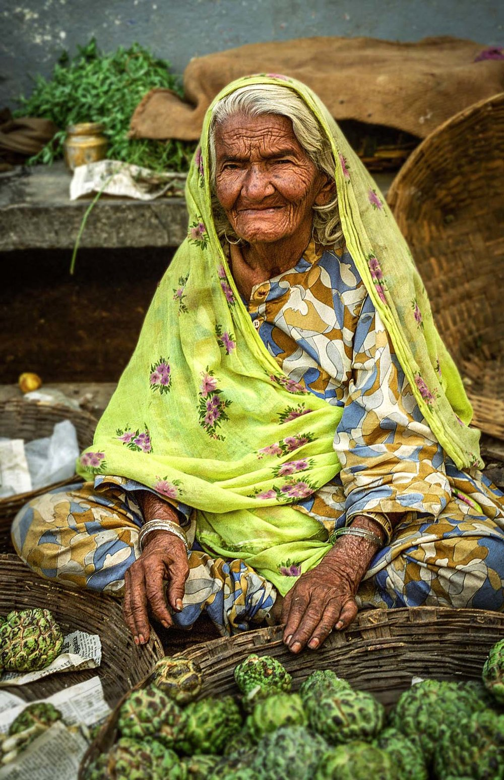 Seller in Udaipur market