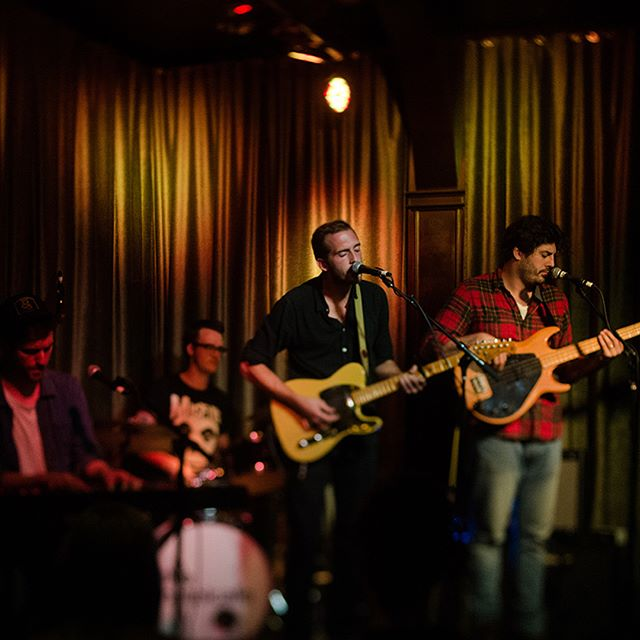 @thehotelcafe performance photographed by @aga.maru! Missing the road already. Thanks to everyone that came out to the shows. We hope to do it again soon.  #edwinsongs #yhnim #hotelcafe