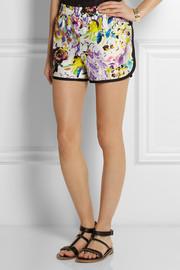 ETRO Floral Print Silk Short