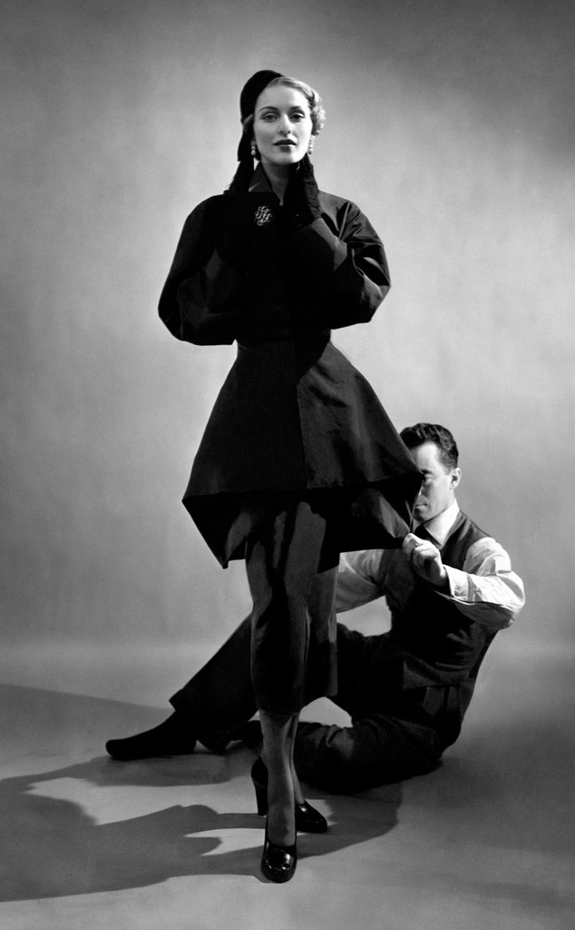 Cecil Beaton/ Vogue/ Conde Nast James with a model,American Vogue, January 1948
